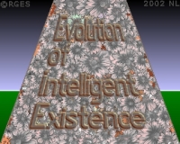 FED: Evolution-of-Intelligent-Existence-3d-Floral-Horizon-RGES
