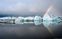 Collection\Msft\Landscapes: Icebergs-and-Rainbows-Jökulsárlón-Iceland