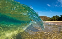 Collection\Msft\Landscapes: Shortbreak-Curl-Makena-Beach-Maui-Hawaii-US