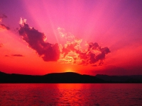 Collection\Nature Portraits: Sunset-pink-red