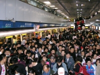 OverPopulation: Asia---subway-crowd