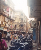 OverPopulation: Bombay---Overpopulated-street-3