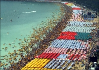 OverPopulation: Brasil--overpopulated-beach